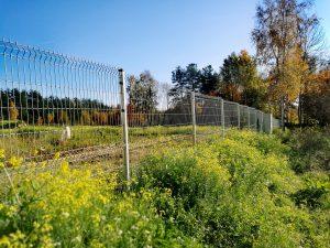 Cinkuota segmentinė tvora
