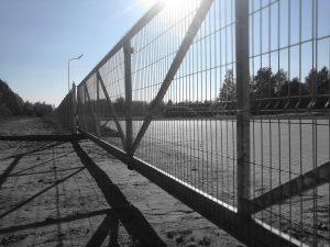 11 m ilgio pravažiavimo metaliniai vartai