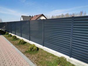 0.7 mm skardos žaliuzinė tvora